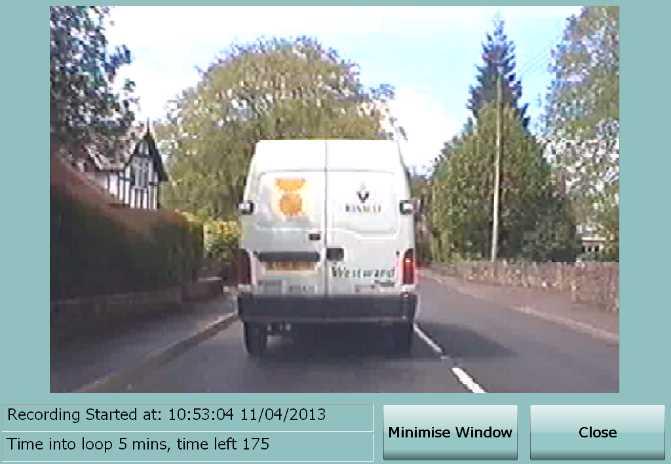 MPEG2 Loop Recorder Screen shot